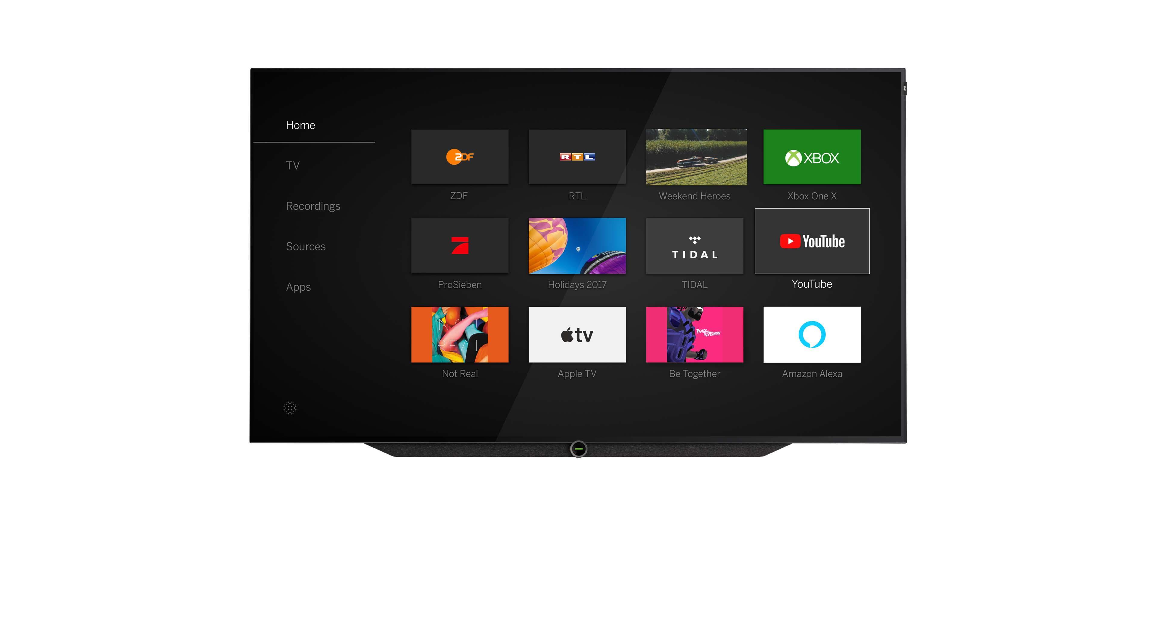 Loewe UI | Loewe os user interface | LOEWE
