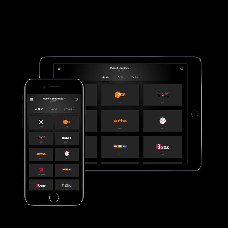Die neue Loewe app: Program-Guide, TV-Streaming, Zapping und Aufnehmen